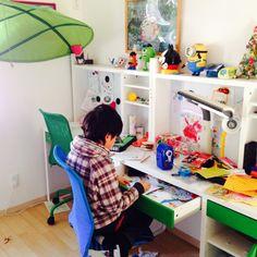 学習机/IKEA…などのインテリア実例 - 2014-11-28 21:45:44