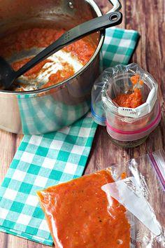 Easy Freezer Tomato Sauce