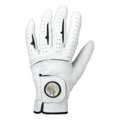 White Blossom Orchid Flower Floral Nature Golf Glove - spring gifts beautiful diy spring time new year