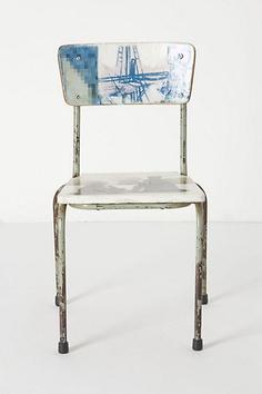 Artista Lesson Chair, Blueness #anthropologie