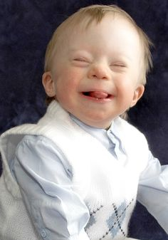 """Often people ask, ""How can you say you're blessed to have a son with Down syndrome?"" My out..."