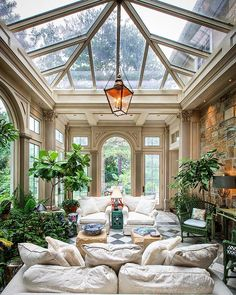 Conservatory Ideas Sunroom, Conservatory Ideas Interior Decor, Home Greenhouse, Stylish Home Decor, Play Houses, Interior Architecture, Fashion Architecture, Interior Design, Future House