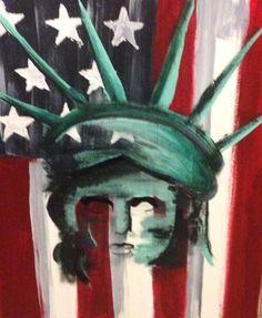 Lady Liberty Canvas Art