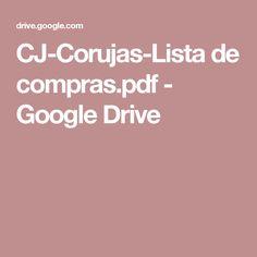 CJ-Corujas-Lista de compras.pdf - Google Drive