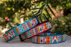 Aztec Mexican Dog Collar Geometric Dog Collar by DizzyDogCollars Aggressive Dog, Dog Birthday, Dog Accessories, Metal Buckles, Dog Gifts, Dog Owners, Dog Bed, Small Dogs, Aztec