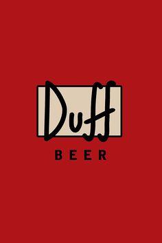 Duff Beer iPhone Wallpaper HD