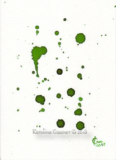 Simply Green, Gassner, ink painting, centimeters,in a cm mount Group Art, Ink Drawings, Ink Painting, Paintings, Abstract, Gallery, Green, Summary, Paint