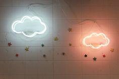 優しい光がお部屋を包み込むkiko+の雲のネオンライト | MilK ミルクジャポン