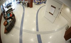 Project Name: University of Memphis Contractor: HOAR Construction Architects: ANF Architects Read more about this project on the Doyle Dickerson http://doyledickersonterrazzo.com/projects/universities/university-memphis/ #terrazzo #flooring #design #contractor #epoxy #terrazzocontractor #K12 #school #education #LEED #commercialflooring #floordesign #memphis #UofM