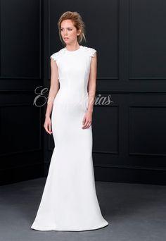 Vestido de novia Victoria by Vicky Martín Berrocal Colección 2017 Modelo Balancín en Eva Novias Madrid Calle Goya, 84 Teléfono 91 435 94 58