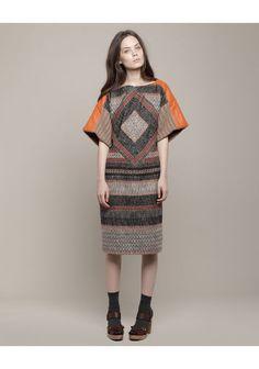Tsumori Chisato | Bonotto Stripe Dress | La Garçonne