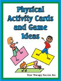 Physical Activity Cards and Game Ideas - Re-pinned by @PediaStaff – Please Visit http://ht.ly/63sNt for all our pediatric therapy pins