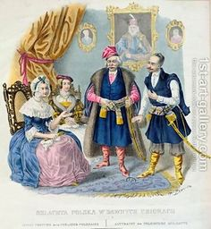 Old Costumes of the Polish Nobility Jan Lewicki   Oil Painting Reproduction   1st-Art-Gallery.com