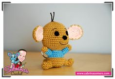 Sabrina's Crochet - Free amigurumi crochet pattern Roo (Winnie the Pooh)