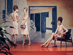 Vogue - Fashion Editor: Grace Coddington. Photographed by Craig McDean.