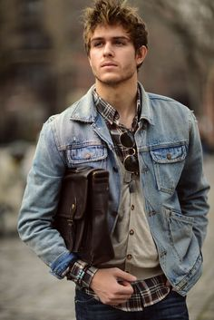 Men's style: Rugged Class!