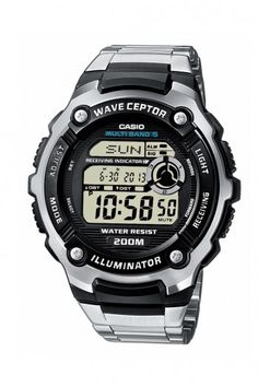 Casio Radio Controlled Wave Ceptor heren horloge WV-200DE-1AVER | JewelandWatch.com