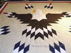 patriotic quilts | Patriotic Eagle Quilt ..... wouldn't this be fantastic for our Quilts of Valor program???????