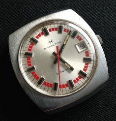 Vintage Hamilton Watch, (Retroworx Collection) Vintage Hamilton Watches, Vintage Watches, Awesome Watches, Timex Watches, Graphics, Accessories, Collection, Antique Watches, Graphic Design