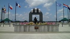 """National D-Day Memorial Bedford, Virginia """"To honor them all"""""""