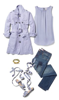 Check out five unique ways to mix and match the Mist Top with other cabi items!