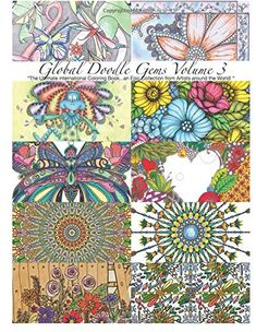"""""""Global Doodle Gems"""" Volume 3: """"The Ultimate Coloring Book...an Epic Collection from Artists around the World! """" by Global Doodle Gems http://www.amazon.com/dp/8799837560/ref=cm_sw_r_pi_dp_gPnLwb0PKBY2E"""