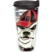 Tervis Tumbler Georgia Bulldogs Guy Harvey Wrap 24oz with Travel Lid -- Want to know more, click on the image.