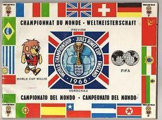 Orig.PRG / German Preview World Cup ENGLAND 1966
