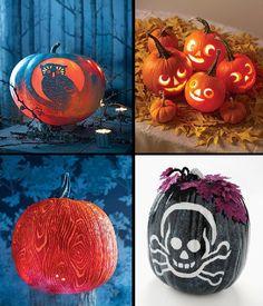 ideas for pumpkin decorating | ... Halloween Pumpkin Decorations Ideas and Halloween Pumpkin Carving Tips
