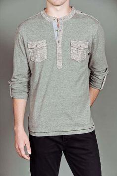 Sovereign Code Vincent Henley Shirt