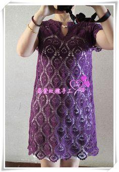 雀羽---紫色连身裙 - 最爱玫瑰 - 最爱玫瑰的博客