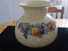 large bulbous vase omar ware by keele street by alomartesantiques