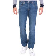 58febea24719 LEVI S – Ανδρικό τζιν παντελόνι LEVI S 511 SLIM FIT MID CITY μπλε