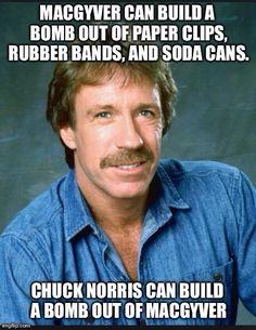 Chuck Norris www.Facebook.com/McDojoLife More