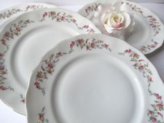 Vintage Favolina Poland Spring Garland Dinner by thechinagirl
