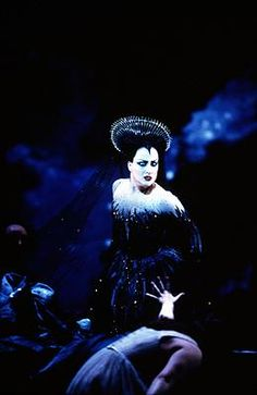 Diana Damrau as Queen of the Night. Photo © 2003 Catherine Ashmore/Performing Arts Library