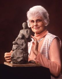 Thoughts and stories, by Pal and Wayne: 816.  Memories of Florence Hansen, a sculptress, d...