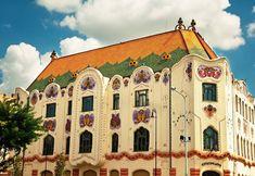 Cifra Palota Beautiful Architecture, Art And Architecture, Belle Epoque, Homeland, Hungary, Budapest, Art Decor, Art Nouveau, Taj Mahal