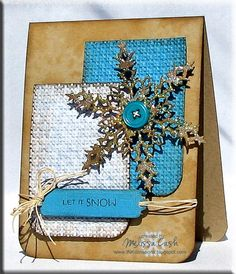 Let It Snow by Melissa C. - Cards and Paper Crafts at Splitcoaststampers