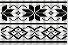 Tricksy Knitter Charts: Lou's Easy Fair Isle by deena Filet Crochet, Crochet Cross, Crochet Chart, Knitting Charts, Knitting Patterns, Punto Fair Isle, Embroidery Patterns, Cross Stitch Patterns, Inkle Loom
