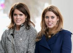 Princesses Beatrice and Eugenie.....14 JUNE 2013    Princess Beatrice and Princess Eugenie are the latest royals to visit their grandfather Prince Philip in hospital, as he recovers from an exploratory operation on his abdomen..... The close sisters were photographed arriving at the London Clinic on Harley Street, where the Duke of Edinburgh was admitted last Friday. He is expected to remain there for about two weeks.