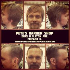 This guy told us just to make him look neat. Styled with Red Reuzel#petesbarbershopchicago #evilbarber #beiberkiller #est2011 #executivecontour #reuzel #tattooedbarbers #tonsorialArtist #inspire #pomade #hairstyle #hairstyling #makeover #menshaircut #mensgrooming #vandyke #mustache #barber #barbering