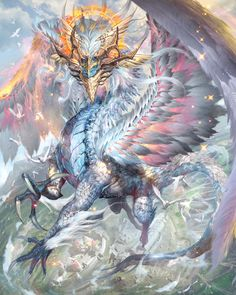 ArtStation - Dragon Lucifer, Huy Thien Nguyen
