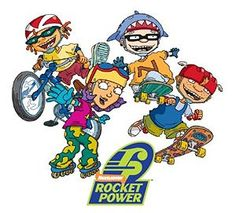 Rocket Power...anytime this show was on Dani made us watch it! @Danielle Fike