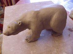 Modelage (avec tutoriel) d' un ours polaire
