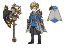 두 세력속의 영웅들!! : 네이버 카페 Game Character Design, Fantasy Character Design, Character Design References, Character Concept, Character Inspiration, Character Art, Concept Art, Seven Knight, Knight Art