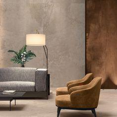 ALPES WIDE Sand e INTERNO 9 WIDE Rust. Diverse sensazioni materiche per le grandi lastre #abkemozioni 160x320 cm. #ceramics #tiles #floor #floortiles #wall #walltiles #stoneeffect #gresporcellanato #porcelainstoneware #design #homedesign #homedecor #living #interiordesign #architecture #creative #madeinitaly #ceramicsofitaly #italiantiles #slabs #supersizeslabs
