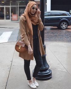 CAMEL ✨✨✨ #hijabfashion #modestfashion #anorakjacket #chloe #springstyle #summerstyle #ootd #summeralbarcha #hijab #camelcoat #modest #outfit