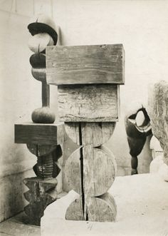 Although Louise Nevelson found her fame creating wooden structures, in the 1960s and 1970s she explored industrial materials like plexiglass, aluminum, acrylic and steel. These new materials allowed her to expand the scale and complexity of her works, while also moving the sculptures out of galleries and museums and into public spaces.