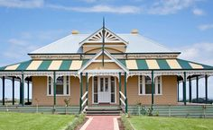 Our photo gallery shows our beautiful Harkaway Homes - Classic Victorian and Early Federation Verandah homes Old Houses, Nice Houses, Queenslander, Home Photo, Next At Home, Victorian Homes, House Colors, My House, Photo Galleries